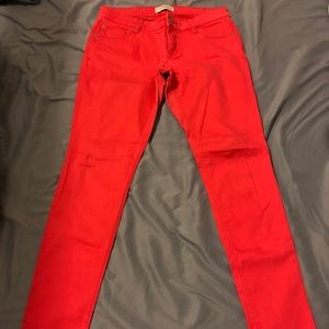 Coral/Salmon Express Jeggings Size 6